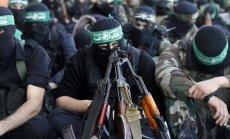 ASV iekļauj teroristu sarakstā 'Hamas' līderi