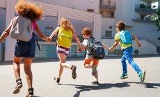 Skolēni aicināti piedalīties 'Mugursomu skrējienā'