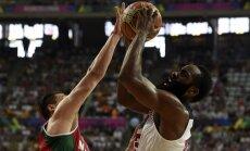ASV un Francijas basketbolisti sasniedz Pasaules kausa izcīņas ceturtdaļfinālu