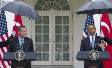 Obama: ASV patur tiesības pret Sīriju pielietot diplomātiskus un militārus līdzekļus