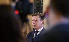 Премьер похвалил министров-сопартийцев: Чакша— мужественная, Бергманис— на своем месте