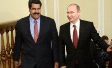 Президент Венесуэлы срочно прибыл в Москву на переговоры с Путиным