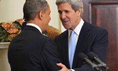 Obama valsts sekretāra amatam izvirza Keriju
