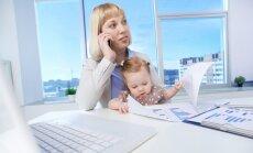 Kā jaunajai mammai vieglāk atgriezties darbā, ieteikumos dalās biznesa trenere Kintija Barloti
