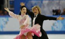 XXII Ziemas olimpisko spēļu daiļslidošanas dejas uz ledus sacensību īsās programmas rezultāti (16.02.2014.)