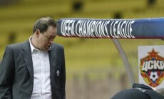 CSKA head coach Leonid Slutski