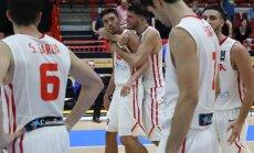 Lietuvas U-20 basketbolisti EČ finālā piekāpjas Spānijai