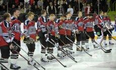 Pārbaudes spēle hokejā: Latvija - Dānija 2:3 (spēle noslēgusies)
