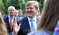 Foto: Latviju apmeklē Nīderlandes karalis