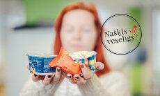 'Našķis vai veselīgs produkts': uztura speciāliste vērtē biezpiena sieriņu un citus kārumus