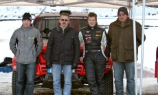 Latvijas komanda 'RE Autoclub' vienojas ar pazīstamo rallija braucēju Gardemeisteru