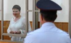 Ukrainas prezidenta sieva lūgusi Mišelu Obamu iestāties par Savčenko atbrīvošanu