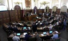 Saeima piekrīt deputāta Kaimiņa aizturēšanai