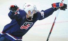 Zināmi pirmie 15 ASV izlases hokejisti pasaules čempionātam