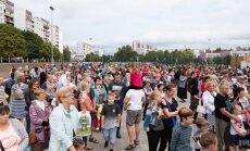 ФОТО: В Межциемсе рядом с двумя школами открылась новая спортивная площадка