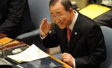 Bans Kimuns aicina izbeigt Sīrijas asinsizliešanas veicināšanu