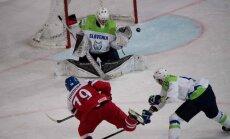 Čehijas izlase ātri nokārto uzvaru pār Slovēniju