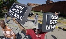 ASV Jūtas štats atgriežas pie nošaušanas kā nāvessoda izpildes veida