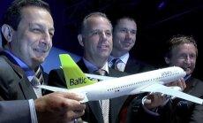 В пятницу в Ригу прилетят новые канадские самолеты для airBaltic