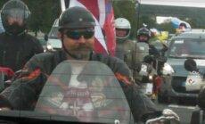 ВИДЕО: Полиция безопасности предупредила об антинатовском автопробеге, прибывшем в Латвию