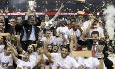 'Olympiacos' basketbolisti noliek ULEB Eirolīgas čempionu pilnvaras