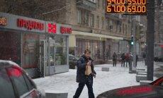 Krievijas valdība gatavo pretkrīzes plānu 18 miljardu eiro apmērā
