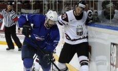 Latvijas hokejistu pretiniekiem Francijai palīdzēs viens NHL spēlētājs