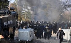 Bulgārijas lielākajā bēgļu nometnē izraisās nekārtības