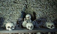 Katakombas, kapenes un citas baisas apskates vietas Čehijā