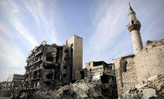 Eiropas Savienība sagatavojusi savu 'Sīrijas atjaunošanas plānu'