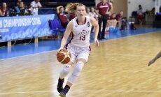 Latvijas U-18 basketbolistes sasniedz Eiropas čempionāta ceturtdaļfinālu