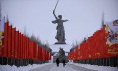 Krievijas pilsēta Volgograda sešas dienas gadā atgūs savu agrāko nosaukumu - Staļingrada