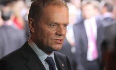 Tusks: Rietumvalstu diplomātiskie centieni novērst Krievijas agresiju pret Ukrainu izrādījušies neauglīgi