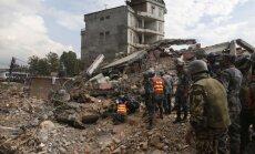 Valdība piešķir 20 tūkstošus eiro zemestrīcē cietušajai Nepālai; 300 tūkstošus - Ukrainai