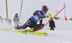 Zvejnieks stabili turas simtniekā pasaules rangā slalomā