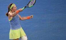 ВИДЕО: Остапенко победила Звонареву в стартовом матче на турнире в Санкт-Петербурге
