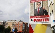 Satīriskā partija 'Die Partei' pārņem sociālos tīklus Vācijā