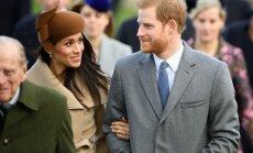 Foto: Prinča Harija līgaviņa svētku dienā apbur ar eleganci