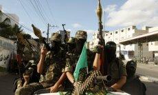 Izraēla un 'Hamas' vienojas par 72 stundu pamieru Gazas joslā