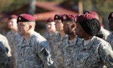 ASV karavīri Ādažos pielāgojas latviešiem; plāno piedalīties 4.maija gājienā