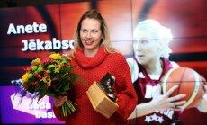 Jēkabsone-Žogota un Strēlnieks - Latvijas gada basketbolisti