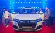 Foto: Jaunā 'Audi Q7' prezentācija Andrejsalā