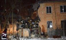 Krievijā gāzes eksplozija dzīvojamā mājā nogalina sešus cilvēkus