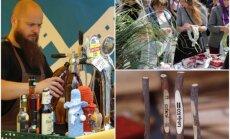 Foto: Rīgas Centrāltirgū Jāņus ielīgo ar degustācijām un spēka zīmju darināšanu