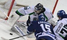 Karsuma vārti un rezultatīva piespēle palīdz Maskavas 'Dinamo' sagraut 'Jugra'