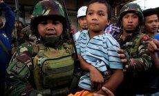 Atbalstu Filipīnu armijai Maravi sniedz ASV īpašo uzdevumu vienības