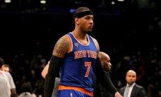 'Clippers' neatmet domu par Entonija iemainīšanu no 'Knicks'