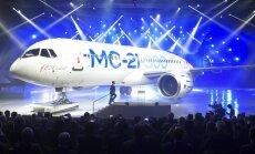 """Новый русский пассажирский самолет МС-21 — """"кузькина мать"""" для Boeing и Airbus"""