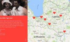 LNB piedāvā digitālu literatūras ceļvedi 'Stāsti par mīlu Latvijā!'
