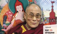 Tiešraides arhīvs: Dalailama Rīgā runā par mīlestību un sievietēm budismā